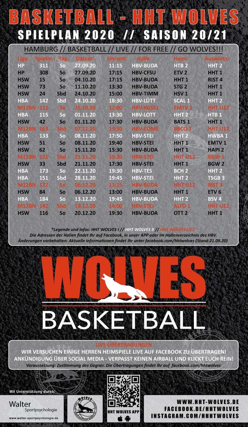 Wolves Plakat